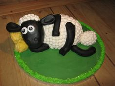 Check out this baa-rilliant Shaun the Sheep cake! Baked by Christine Blackwill