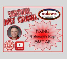 """Wrapping Paper & Applique Demo"" for February CAC Virtual Art Crawl How To Make Paint, How To Find Out, Paint Tubes, Social Link, Picture Albums, Virtual Art, Fluid Acrylics, Spring Art, Exciting News"