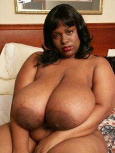 Ebony bra busters