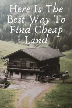 There are many reasons people want to buy land- to build a home, start a farm or ranch, investment, live off the grid, start a business and so many more. But there a few ways to be smarter about it and buy it cheap.