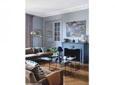 Appartement parisien chic et chine