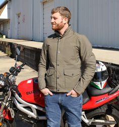 Aether Apparel Skyline Motorcycle Jacket