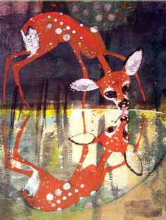 Vinni Pukh i vse-vse-vse, illustrators B Diodorov and G. Kalinovskiy, 1967 (Russian Winnie the Pooh)