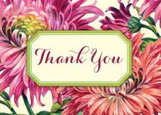 Cartolina Mini Card - Thank you M156