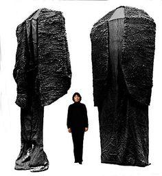 Magdalena Abakanowicz, Black Garments  on ArtStack #magdalena-abakanowicz #art