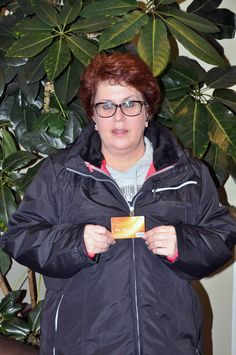 Bonnie from Middletown, DE won a $500 Visa gift card for completing a customer survey! Congratulations!