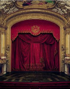 David Leventi - Curtain, Royal Swedish Opera, Stockholm, Sweden- Ed. Of bau-xiphoto.com