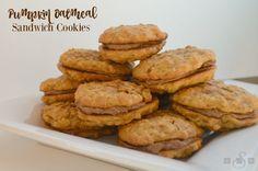 Pumpkin Oatmeal Sandwich Cookies - Butter With A Side of Bread