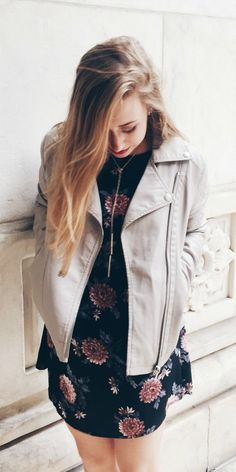 Leather jackets in the fall are the perfect staple piece! They can be dressed down or up -- awesome versatility. Click the link to read more!