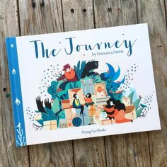 The Journey by Francesca Sanna, a children's picture book that tells the story of a refugee family leaving their home looking for a safe place. Amazing way to talk to your kids about refugees and the refugee crisis, to encourage & teach them compassion, respect, and to teach them the power of hearing & sharing stories. (With hauntingly gorgeous illustrations)