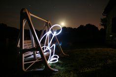 Light painting by rafoto, via Flickr