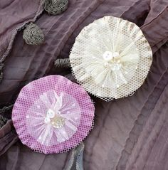 Fabric Flowers  Bonnet Blooms  Petunia 530099  by isakayboutique, $4.89