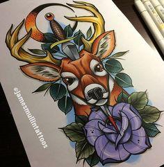 Deer – 37 фотографий