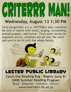 Criterrr Man is Coming Soon! | by Lester Public Library