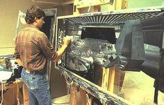 Mike Pangrazio, Matte painting