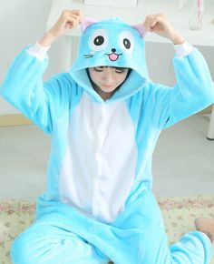Fairy Tail Happy onesie (1)