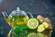 """Menta, limone, zenzero, acqua, cetriolo. Si chiama """"acqua Sass"""" e fa miracoli!"""