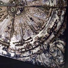 """Väggdekoration i sammet """"Antique Victorian Tin Rose (130P05), Koziel"""