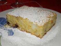 Hungarian Desserts, Hungarian Recipes, Hungarian Food, Vanilla Cake, Bacon, Cheesecake, Muffin, Food And Drink, Cooking