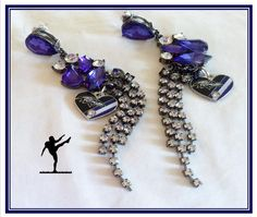 BALTIMORE RAVENS JEWELRY Earrings by SWANKEE on Etsy
