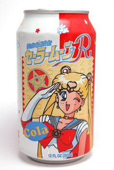Sailor Moon Cola! Okay, I may be getting a little desperate here, but I want it!