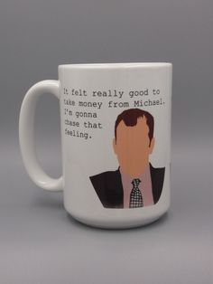 385cf05489d 45 Best The Office; mugs and coaster || custom quotes and designs ...