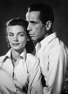 Lauren Bacall and Humphrey Bogart, from Key Largo