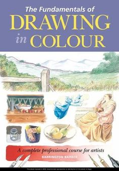 Good place to preview books before purchase // The fundamentals of drawing in colour