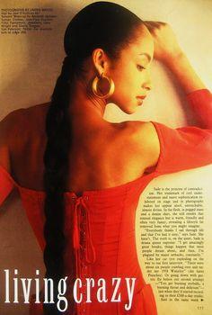 Sade-classic low ponytail