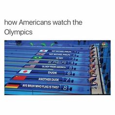 How I watch the Olympics