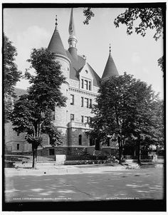International Correspondence School, Scranton, Pa. circa 1890. My grandmother and great-grandfather worked there in the 1910's as proctor and instructor, respectively.