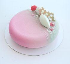 Ладно не буду долго томить))) Торт номер два для той же именинницы: малина-лайм-мята // Raspberry-lime-mint by sweetburg