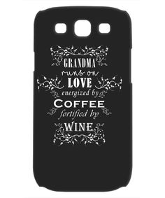 GrandMa Runs On Love - Samsung Galaxy S3 Case