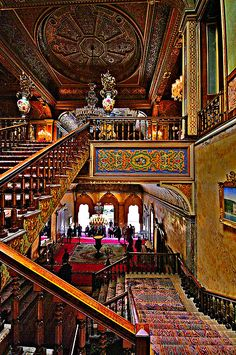 Beylerbeyi Palace Istanbul a little much for my taste but oriental art i have to admire