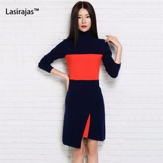 New Fashion Women Dress Cashmere Knitted Office Work Sweaters for Ladies  Winter Warm Pullover Women Clothing Female