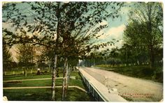 Free Ferry Drive in Fort Smith. circa 1909. AHC5801.1