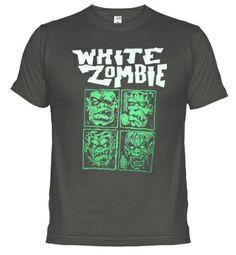 Camisetas WHITE ZOMBIE