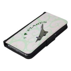 I Love Planes - Concorde Wallet Phone Case For Samsung Galaxy S6 - love gifts cyo personalize diy