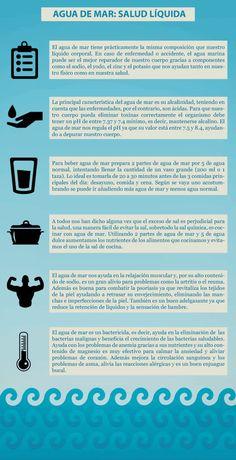 ¿Realmente es bueno beber agua de mar?