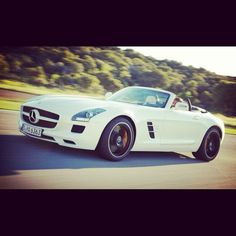 Top Down Mercedes SLS