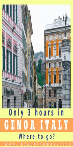 Genoa Italy, sightseeing in Genoa, things to do in Genoa, travel ideas, Genoa travel itinerary, travel destinations, budget travel, traveling Europe, travel photography, Ligurian Sea, travel tips Genoa, city guide Genoa, vacation tips Italy #genoa #italy #sightseeing