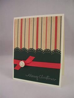 ValerieO ~ CAS Holiday Swap Card by LaLatty - Cards and Paper Crafts at Splitcoaststampers