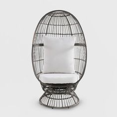 Egg Chairs for Sale . Egg Chairs for Sale . Swing Rattan Effect Poly Cocoon Hanging Egg Chair Brampton Wicker Patio Chairs, Cafe Chairs, Chair Cushions, Dining Chairs, Desk Chairs, Room Chairs, Office Chairs, Ikea Chairs, High Chairs