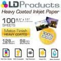 LD Matte Paper, 100 - Sheets, for professional, clear, crisp prints. Personalized Tags, The 100, Packing, Paper, Bag Packaging, Personalised Labels, Personalised Signs
