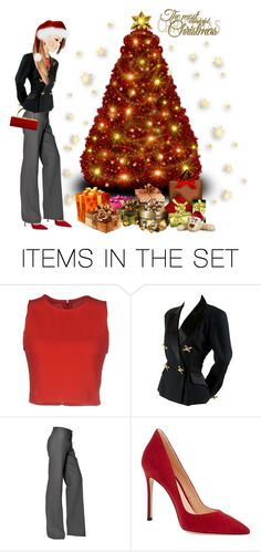 """Merry Christmas✨*""˜˜""*°•.✫"" by califorina-girl ❤ liked on Polyvore featuring art"