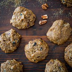 Cherry Berry Breakfast Cookies. A healthy way to start your day, made with quinoa, flax and pecans.
