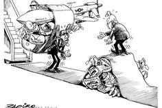 Zapiro: Zuma and Obama: The meeting - Mail & Guardian
