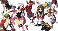 Female Pokémon protagonists