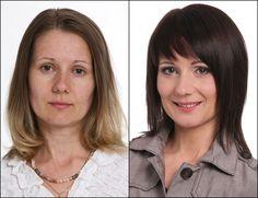 До и после, новая прическа, стрижка, темные волосы, Bogomolov Татьяна (40 лет)