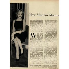 Glamour Editorial How Marilyn Monroe Took London, December 1956 Shot... ❤ liked on Polyvore featuring backgrounds, marilyn monroe, marilyn, vintage and editorials